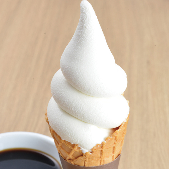 濃厚なめらかクリームソフト